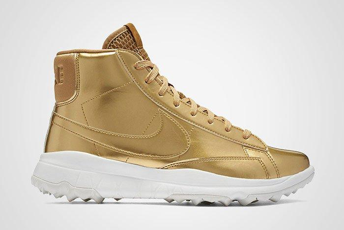 Nike Blazer Golf Metallic Gold Wmns Thumb