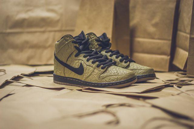 Nike Sb Dunk High Prem Brown Paper Bag