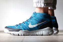 Nike Flyknit Trainer Chukka Fsb Squadron Blue Thumb