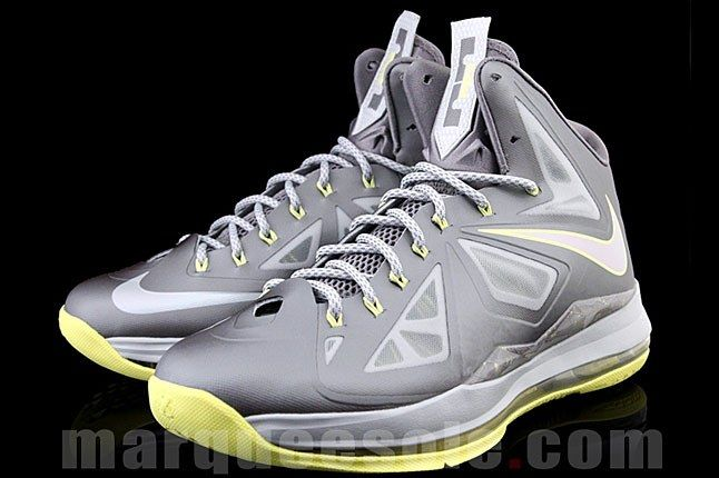 Lebron 10 Canary Sneaker 1
