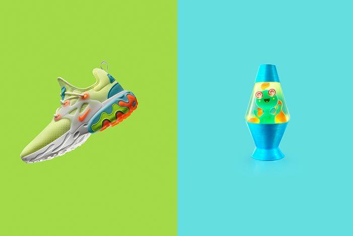 Nike Air Presto React Psychedelic Lava Graphic