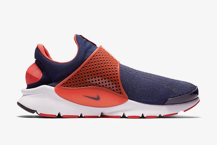 Nike Sock Dart Navy Orange 4