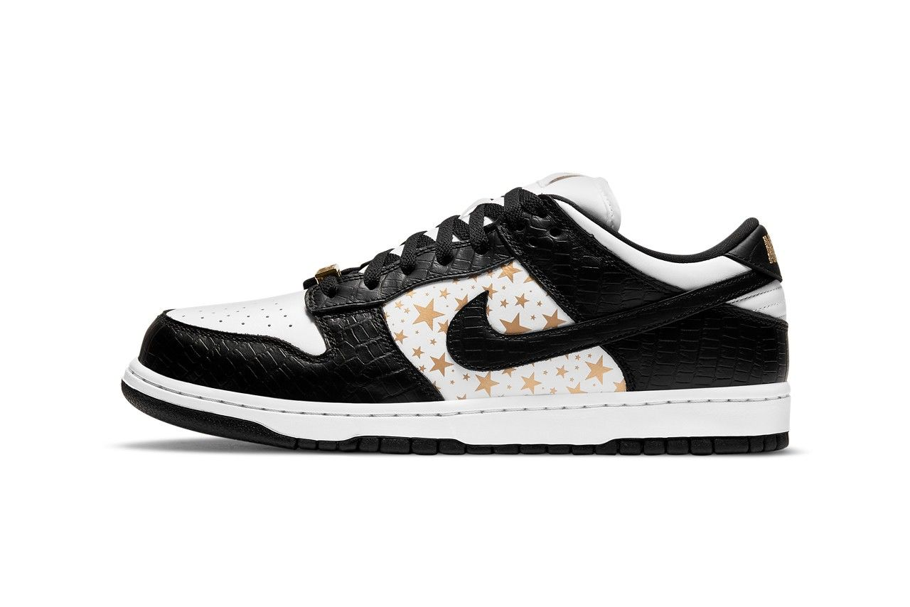 Supreme Nike SB Dunk Low Black