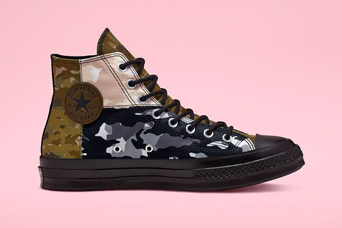 Converse Chuck 70 High Mixed Camo Medial