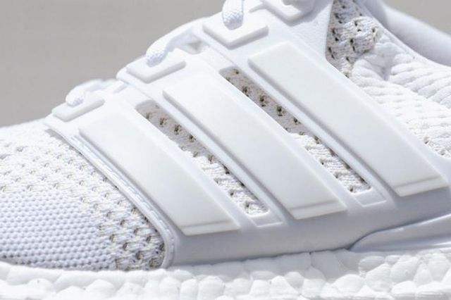 Adidas Ultra Boost White Black Bottom 9
