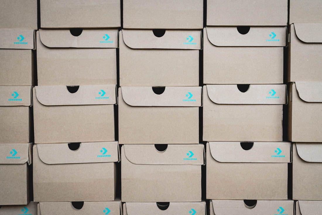 Converse Renew Canvas Coal Drops Yard Pop Up Event Recap 16 Boxes