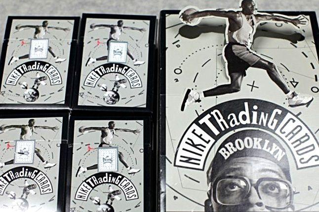 Vintage Nike Mars Blackmon Michael Jordan Trading Cards 5 1