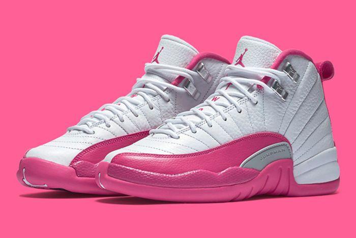 Air Jordan 12 Gs Valentines Day10