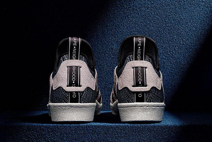 Bape X Neighborhood X Adidas Superstar Boost2