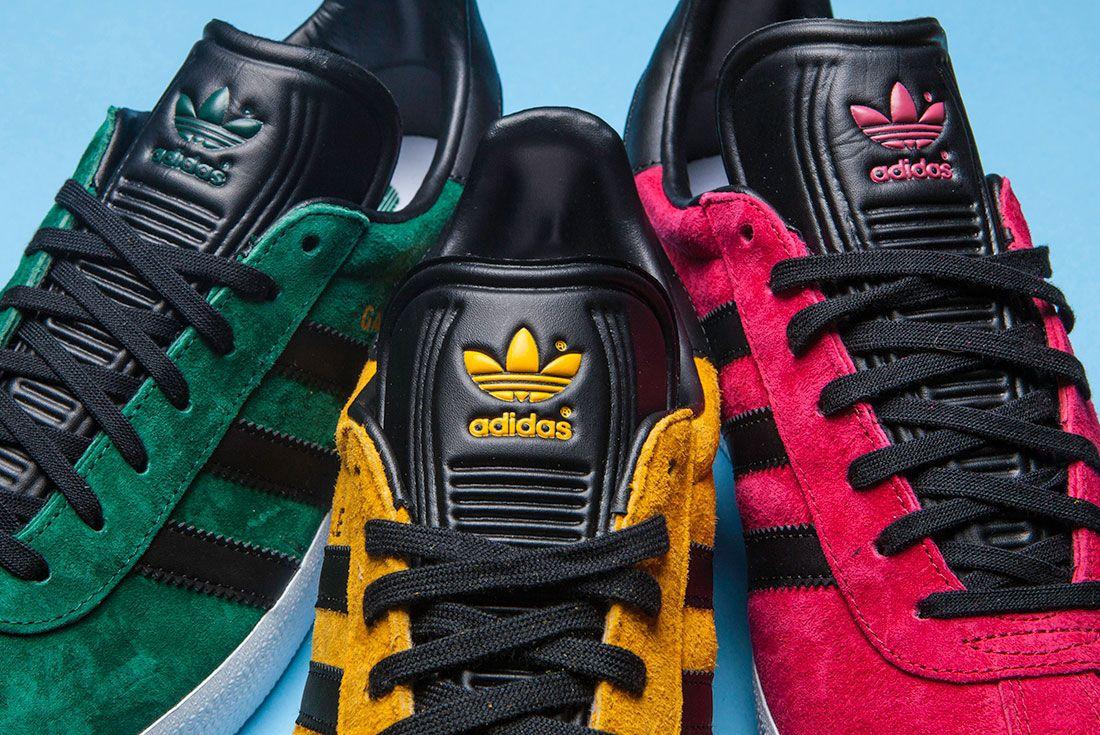 New Colourways Of The Adidas Gazelle 1