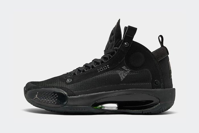 Air Jordan 34 Black Cat Lateral