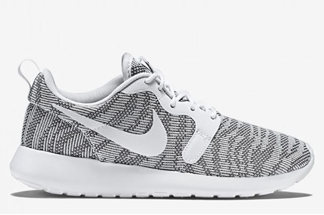 Nike Roshe Run Knit Jacquard White Cool Grey 1