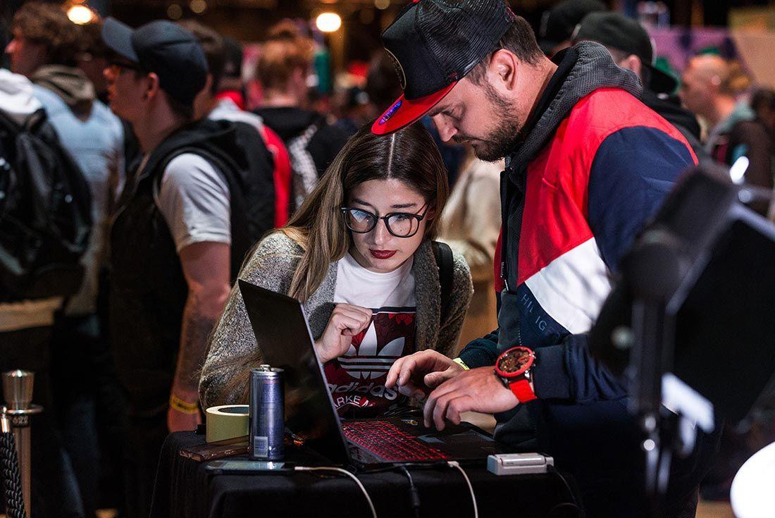 Sneakerness Event Recap Laptop Check