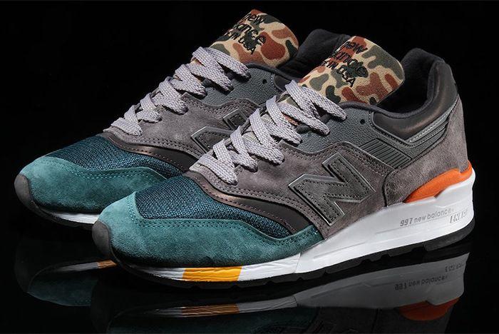 New Balance Second 997 Camo Sneaker Freaker