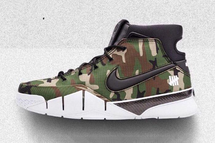 Undefeated X Nike Zoom Air Kobe 1 Protro Undftd Sneaker Freaker 3