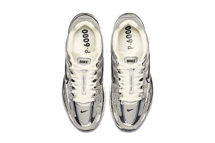 Nike P 6000 Metallic Silver Cn0149 001 Release Date Top Down