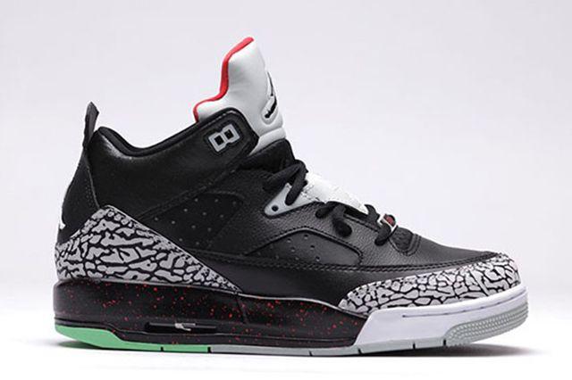 Air Jordan Son Of Low Bg University Red Black Black Unvrstyrd Grymst 1