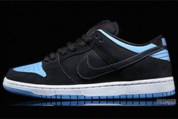 Nike Sb Dunk Low Pro Black University Blue White Available Now 1 Thumb