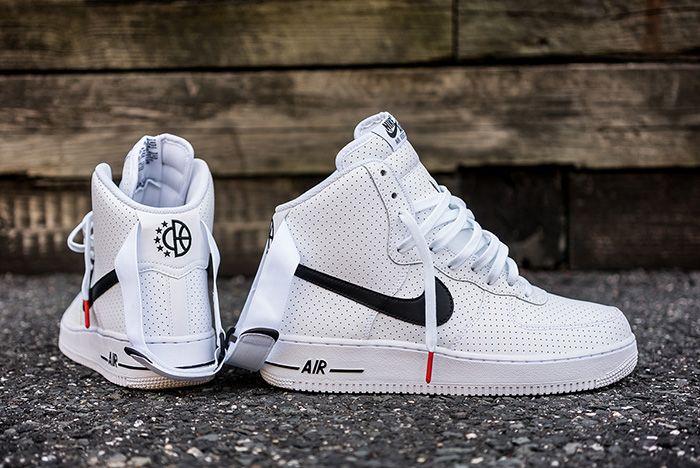 Nike Air Force 1 High Perf White Black 4