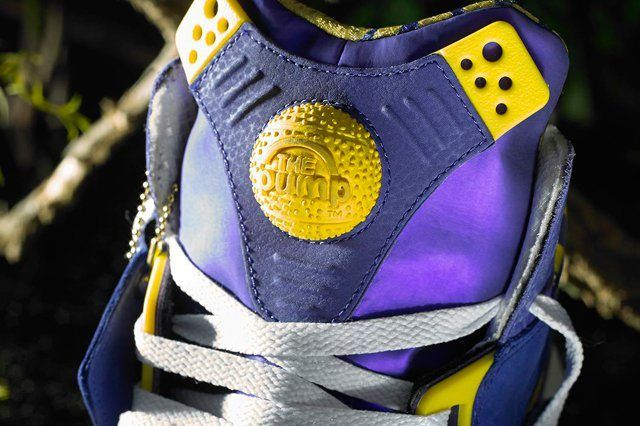Reebok Classic Shaq Attaq Lakers 3