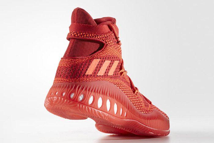 Adidas Crazy Explosive Primeknit Red 3