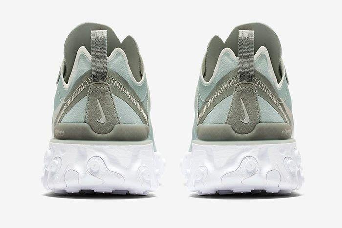 Nike React Element Mica Green Heel