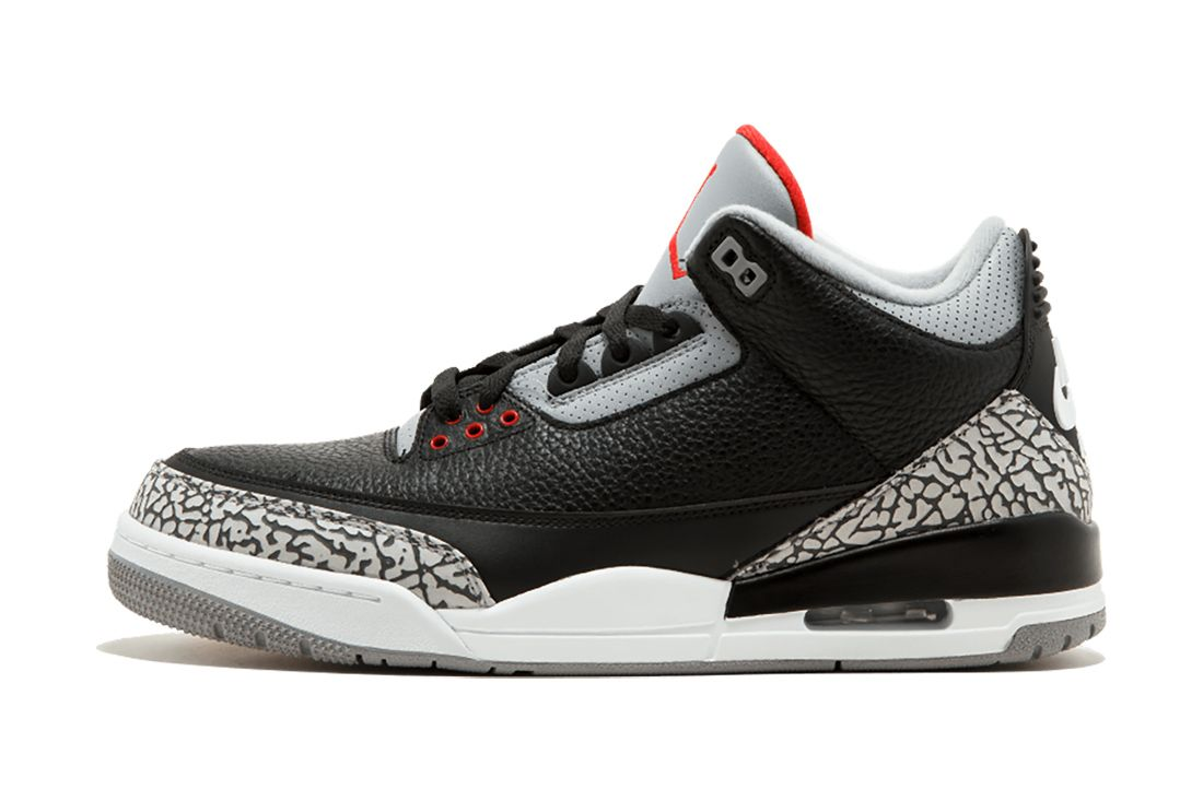 Black Cement Air Jordan 3 Best Feature