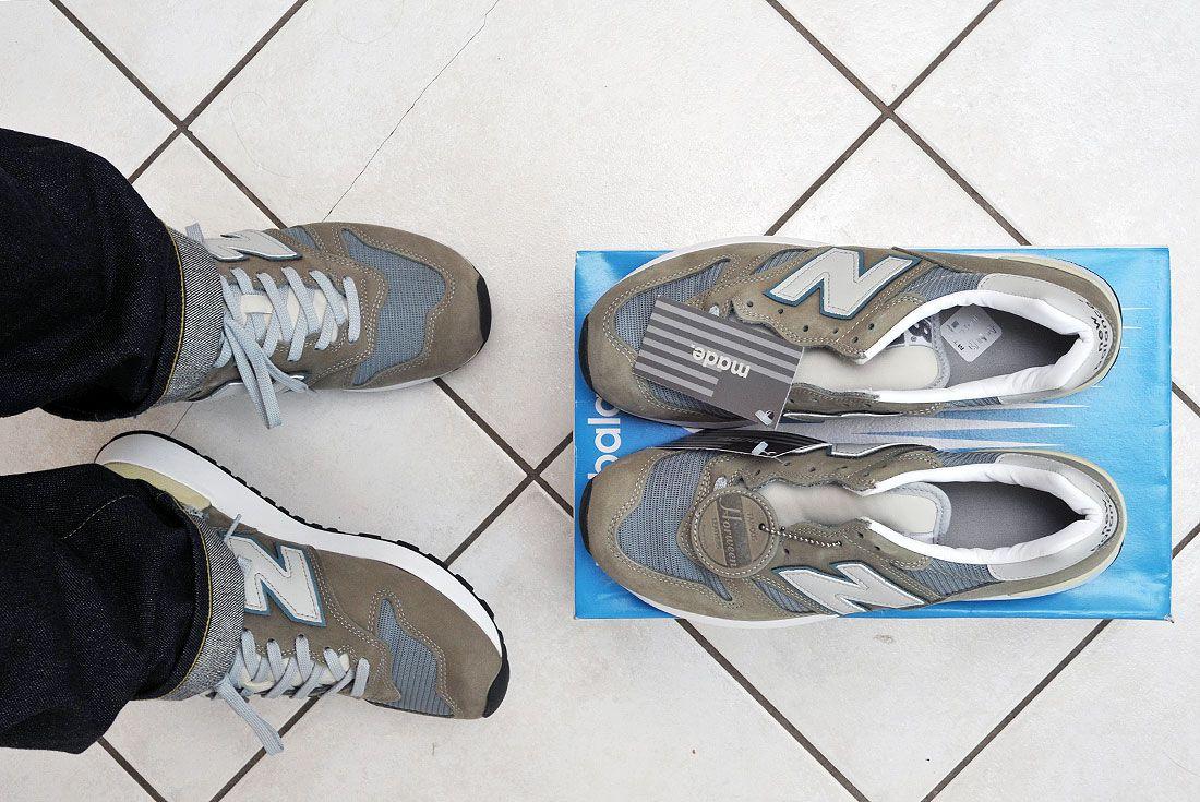 new balance 1300jp on foot