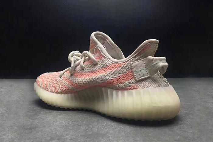 Adidas Yeezy 350 V2 Chalk Coral Pink 3