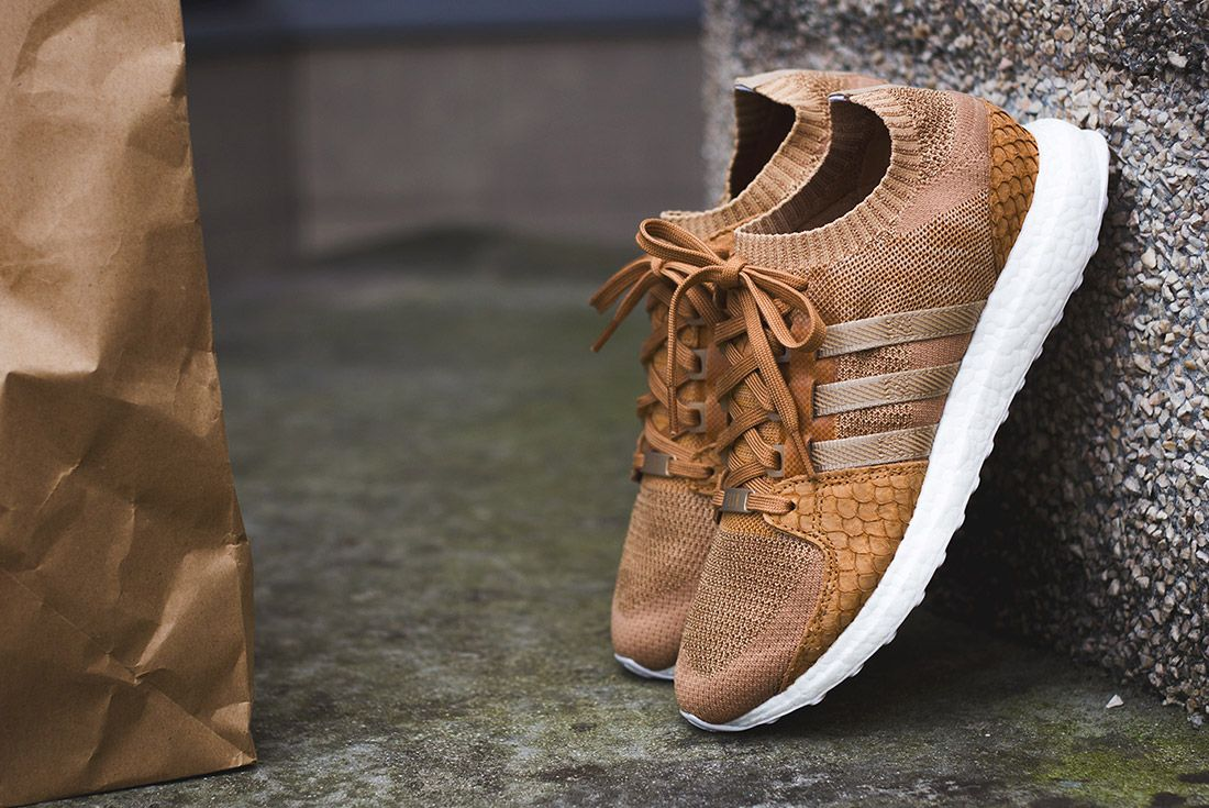 Adidas Eqt Pusha T Fishscale Brown Paper Bag 4
