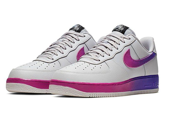 Nike Air Force 1 07 Lv8 Purple Toe