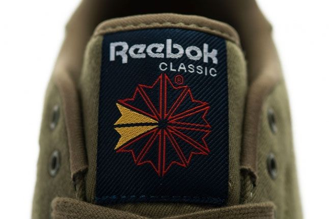 Reebok Classic Clean Textile Pack Green Tongue 1
