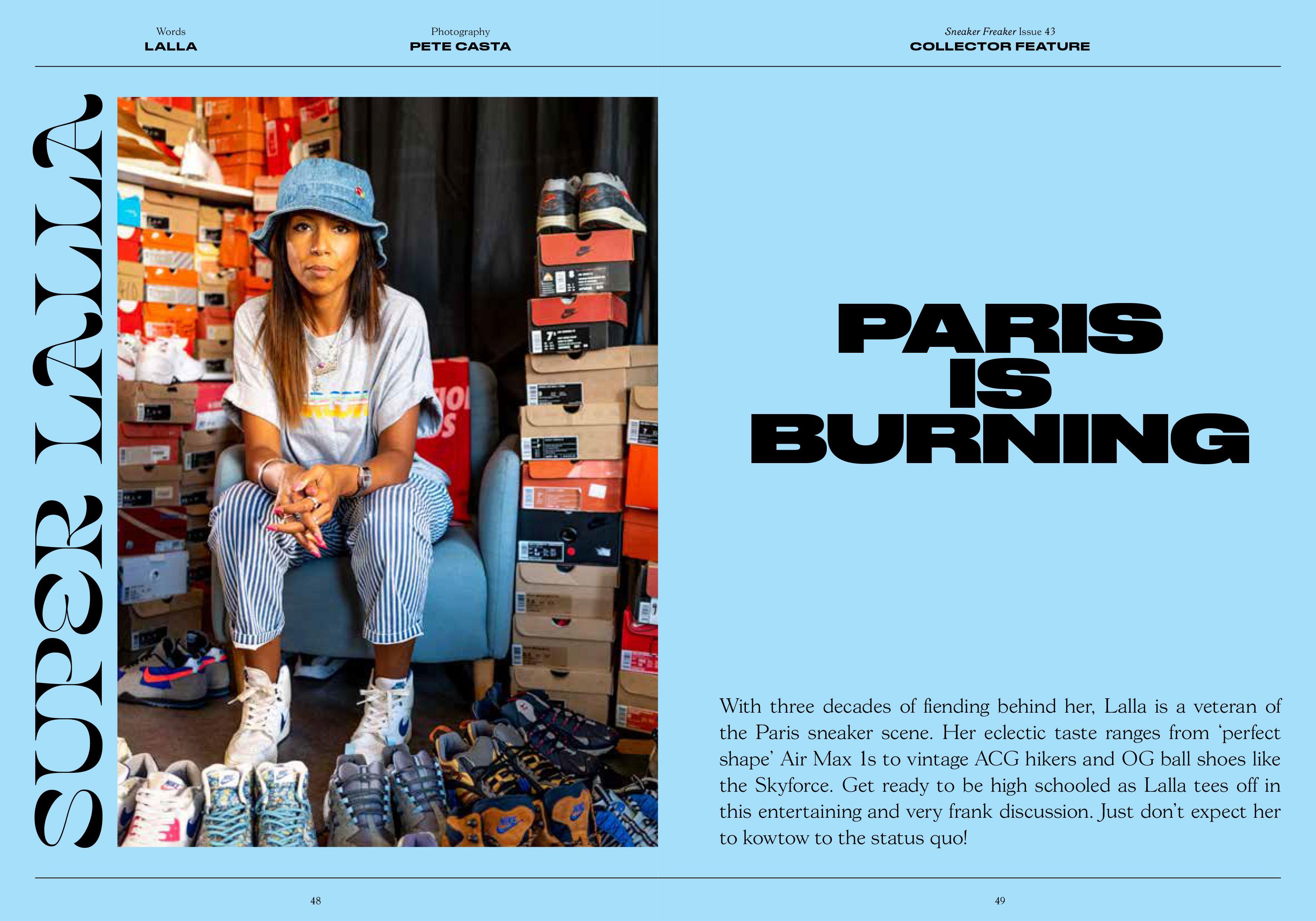 Sneaker Freaker Magazine Issue 43 Lalla