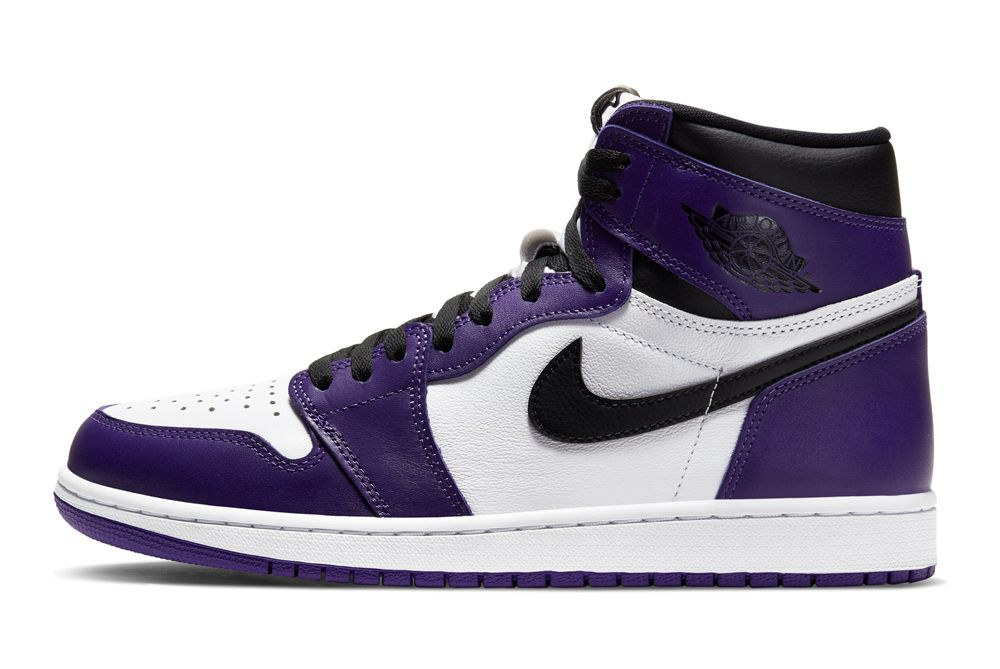 Air Jordan 1 Court Purple left shot