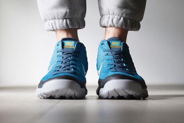 Nike Flyknit Trainer Chukka Fsb Squadron Blue 4