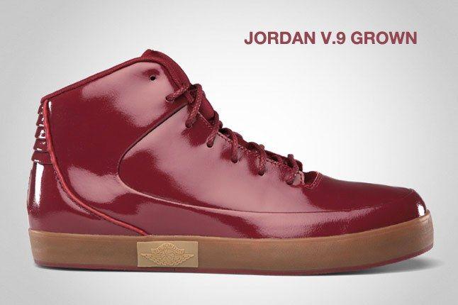 Jordan V 9 Grown Red 1