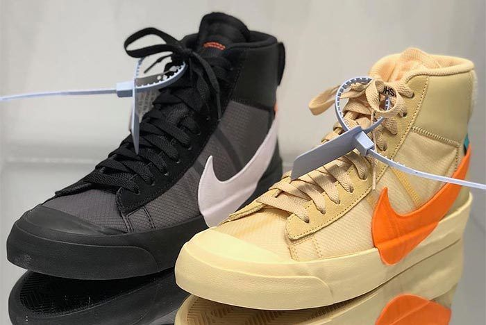 Off White X Nike Spooky Pack Blazer Mid All Hallows Eve Grim Reepers 1