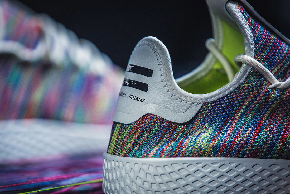 Adidas Pharrell Williams Tennis Hu Rainbow 9