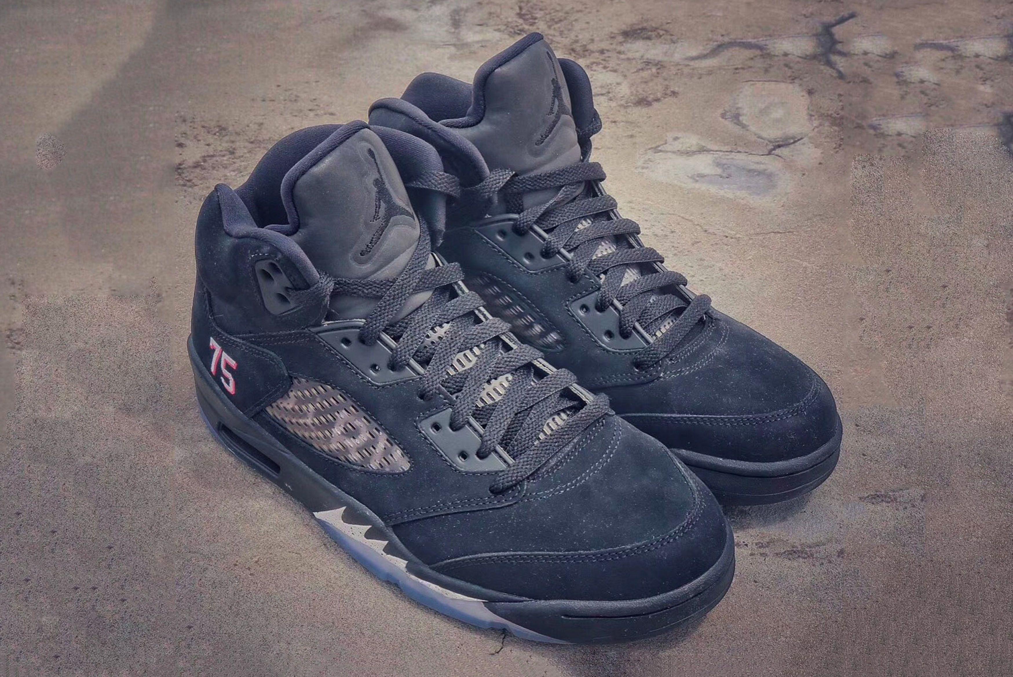 Air Jordan 5 Retro Paris Saint Germain First Look 1 Sneaker Freaker