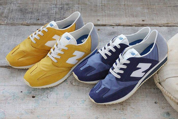 New Balance 320 Retro Blue Yellow 2