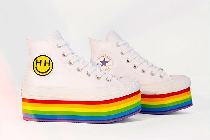 Miley Cyrus Converse Pride Month 4