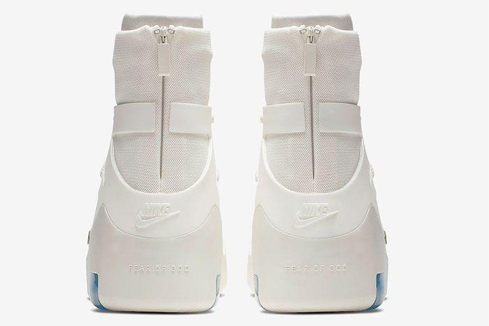 Nike Air Fear Of God 1 Sail Heel