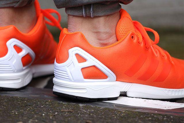 Adidas Zx Flux Solar Orange 4