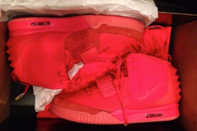 Kanye West Yeezy 2 Nike Red October 3