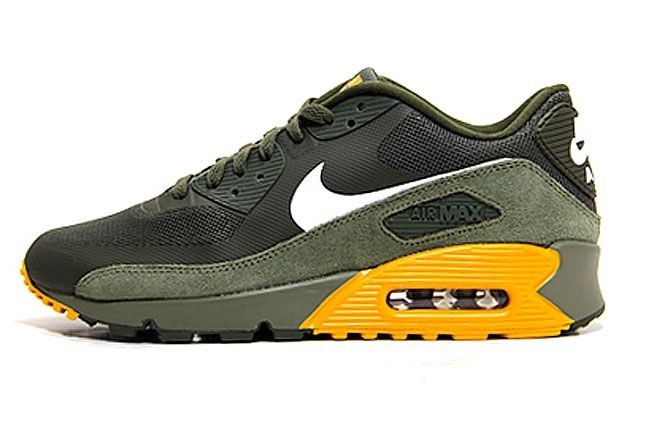 Nike Air Max 90 Green Gold 1