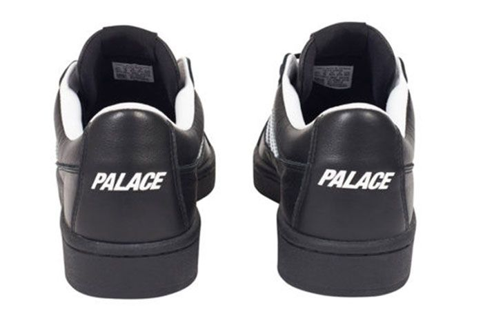 Adidas Palace Campton Black Heel