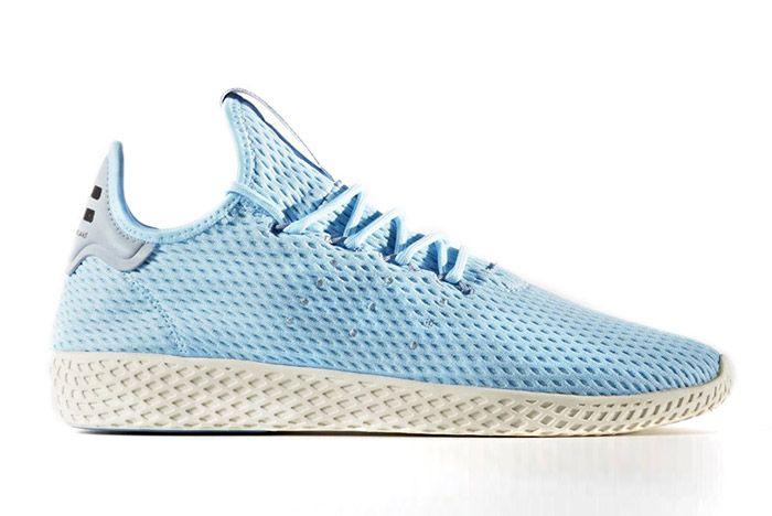 Pharrell Williams Adidas Tennis Hu Light Blue