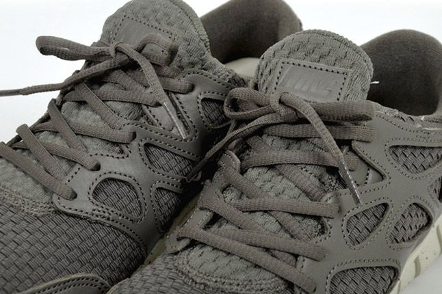 Nike Free Run 2 Woven Leather Tz Profile Grey 1