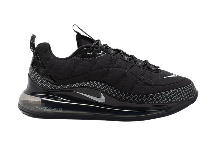Nike Mx 720 818 Black Ci3871 001 Release Date Lateral