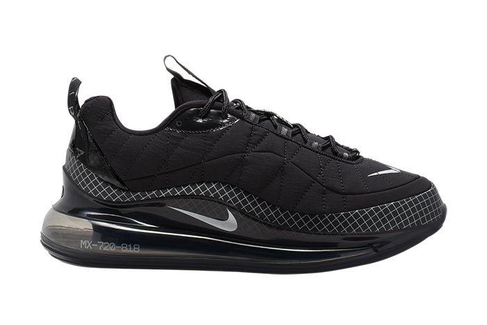 Nike Mx 720 818 Black Ci3871 001 Release Date Lateral